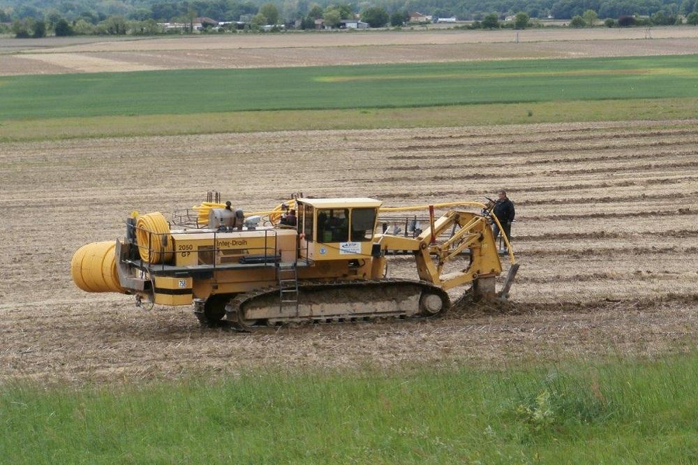 SOGEBA Travaux Publics, drainage agricole