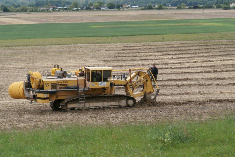 Sogeba Travaux Publics, métier drainage agricole et viticole
