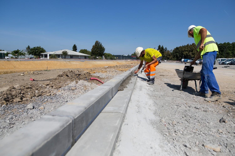 Sogeba travaux publics, chantier
