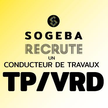 Sogeba recrute conducteur de travaux
